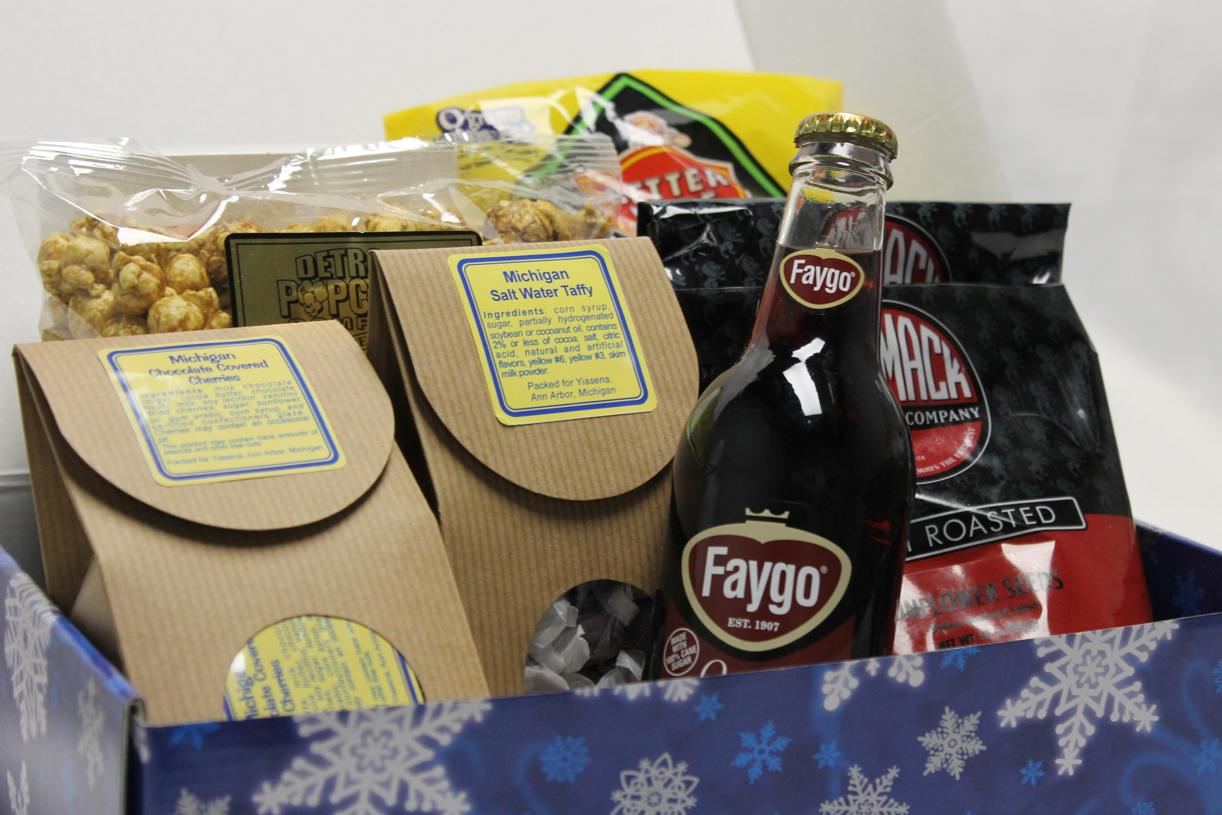 Michigan Snack Baskets - Baskets and More